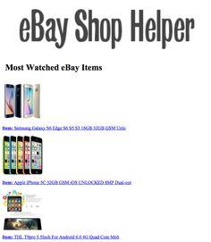 2017-05-09 22:54:44.884835 eBay eBayMostWatched SmallBiz BigData