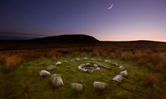 Pendle Hill in Lancashire: