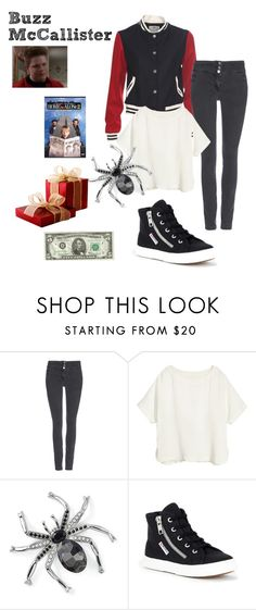 """Buzz McCallister - Home Alone 2"" by ashleigh-kuzio on Polyvore featuring Wallis, H&M, Natures Jewelry and Superga"