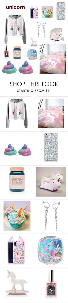 """""""unicorn"""" by wednesday-morning ❤ liked on Polyvore featuring New Look and Lime Crime"""