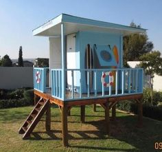 Shack Range Play House by Playground Wizards. Contact: sales@playgroundwizards.co.za http://www.playgroundwizards.co.za