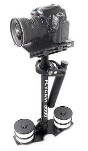 Flycam 3000 Camera Stabilizer by Flycam. $194.99. The Flycam 3000 is a lightweight, hand-held camcorder stabilizing system designed for compact cameras weighing up to 6 pounds. Imagine a world in balance. Imagine smoothness, freedom and grace. The camcorder seems to float, always balanced, free from any unintended motions with the Flycam 3000.The Flycam 3000 works so well that it allows you to shoot incredibly smooth and graceful shots even while going to extremes like running ...
