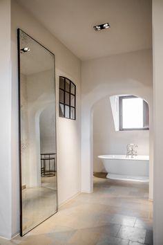 Bathroom   Clear Floor Mirror By Dawn Sweitzer For Notre Monde