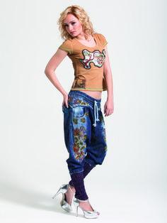 Harem pants. Street wear.  www.cladu.fi
