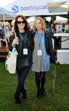 Michelle Dockery and Laura Carmichael
