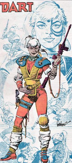 Dart from Atari Force - my first (and maybe only) tattooed crush