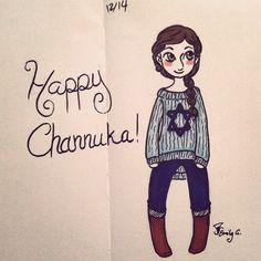 Happy Channuka everyone!  Hatteress42