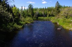 Katahdin Woods & Waters Scenic Byway Gallery – Seboies River (Photography: Thierry Bonneville)