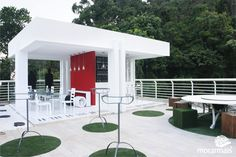 Bar da Piscina Pequena Notável por Isabela Saramago no Morar Mais Rio