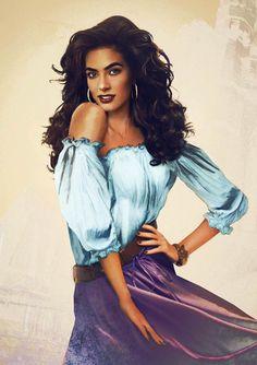 Disney Princess Realistic Version- Esmeralda
