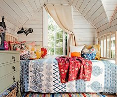 What teen girl would not love this bedroom!