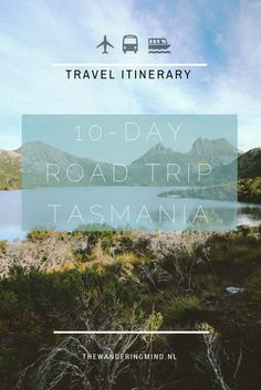 Rondreis Tasmanië: een reisroute - The Wandering Mind- Road Trip Tasmania Diving Australia, Sydney Australia Travel, Tasmania Travel, Australian Road Trip, Travel Route, Rv Travel, Adventure Travel, Travel Tips, Road Trip Hacks