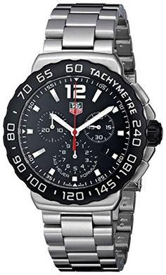 TAG Heuer Herren-Armbanduhr Chronograph Automatik Edelstahl CAU1110.BA0858