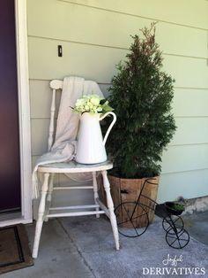 Front Door Refresh / Decor Ideas / Paint Update