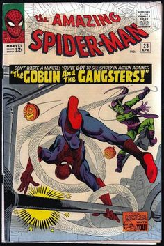 Amazing Spider-Man # 23 , April 1965 , Marvel Comics Vol 1 1963 tumblr_nj1qdn3cyz1rn55nzo1_540.jpg (540×809)