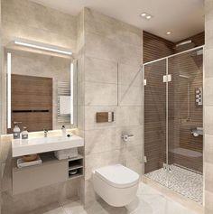 6 Most Useful Small Bathroom Design Ideas - Des Home Design Bathroom Design Luxury, Bathroom Layout, Modern Bathroom Design, Small Bathroom, Bathroom Designs, Bath Design, Bathroom Ideas, Bathroom Organization, Relaxing Bathroom