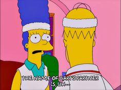 homer simpson marge simpson season 12 tennis episode 12 nervous unsure 12x12 via diggita.it #tennis