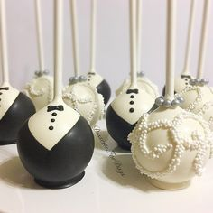 Wedding Cake Pops, Wedding Dress Cake, Wedding Cakes, Wedding Favors, Wedding Gifts, Wedding Decorations, Chocolate And Vanilla Cake, Chocolate Dipped, Tuxedo Cake