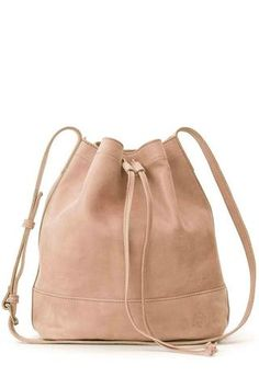 The bucket bag in spring's favorite pastel!