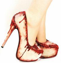 Heels for the horrifying.