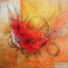 "Antoinette Luechinger  ""Universe"" Kunst Weltraum: Gestirne Fantasie Moderne Expressionismus Abstrakter Expressionismus Art Space: Stars Fantasy Modern Expressionism Abstract Expressionism"