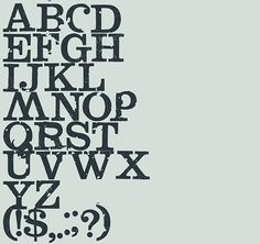 DryTransfer Clarendon Crusty free font by LRC type foundry #free #font #clarendon