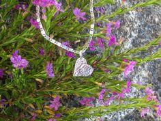 Sterling Silver Textured Heart www.carellajewellers.com Rockhampton Qld Handmade Jewellery, Pendant Necklace, Texture, Sterling Silver, Heart, Jewelry, Surface Finish, Handmade Jewelry, Jewlery