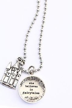 she believes in fairytales [LS37] - $25.00 : Beth Quinn Designs , Romantic Inspirational Jewelry