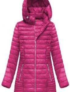 Prošívaná bunda v amarantové barvě s kapucí (B1070-30) Winter Jackets, Fashion, Winter Coats, Moda, Winter Vest Outfits, Fashion Styles, Fashion Illustrations