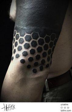 hexagon tattoo - Google Search                                                                                                                                                     More