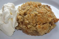 Apple Crumble Receta, Dessert Recipes, Desserts, Love Is Sweet, Oatmeal, Pudding, Sweets, Baking, Fruit