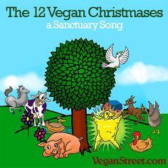 The 12 Vegan Christmases
