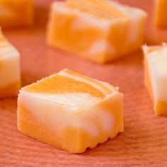 Orange Dream Fudge  ~  No need for a candy thermometer on this one.  This fudge…