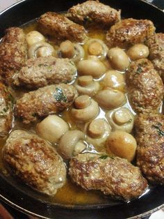 Mushroom meatballs – Welcome to Ramadan 2019 Meat Recipes, Healthy Dinner Recipes, Cooking Recipes, Plats Ramadan, Mushroom Meatballs, Minced Meat Recipe, Algerian Recipes, Albondigas, Healthy Eating Tips