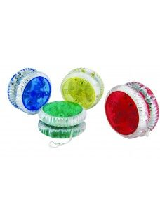 Red LED Lighted Yoyo
