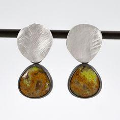Unique Earrings, Boho Earrings, Fashion Earrings, Earrings Handmade, Silver Earrings, Pendant Earrings, Gemstone Earrings, Drop Earrings, Trendy Jewelry