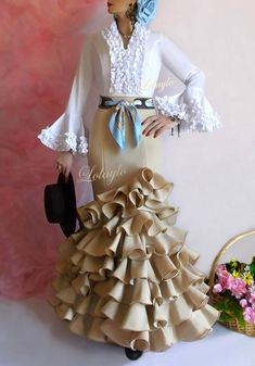 Fishtail, Steampunk Fashion, Ideias Fashion, Ruffle Blouse, Glamour, Costumes, Boho, Sewing, Outfits