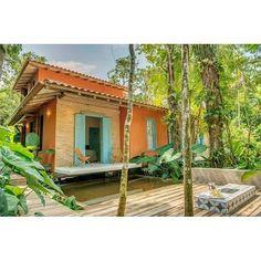 Momento delírio com as casas de praia brasileiras que estão para alugar no…