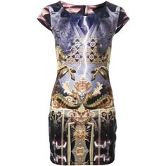 PHILIPP PLEIN 'Midnight dream' Printed-Dress