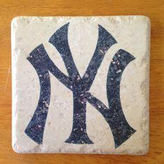 NY Yankees coasters $18 on Etsy