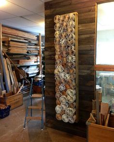 Insanely cool DIY recycled wall art made from books