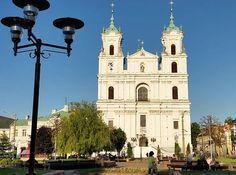 bialorus grodno katedra franciszka ksawerego barok jezuici