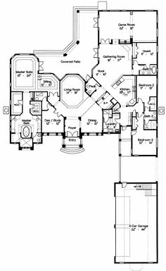 Grand Palladian Design - 4246MJ | 1st Floor Master Suite, Bonus Room, Butler Walk-in Pantry, CAD Available, Corner Lot, Den-Office-Library-Study, Florida, Luxury, Media-Game-Home Theater, Mediterranean, PDF, Spanish, Split Bedrooms | Architectural Designs