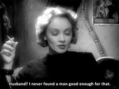 When you keep your standards up high where they belong: | 29 Badass Dating Lessons From Classic Hollywood Women