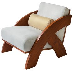 An architectural amalgamation of artisanal shapes & angles results in some of the season's liveliest seating. Sink into ASPIRE's Spring 2019 chair roundup. Furniture Sofa Set, Furniture Projects, Furniture Plans, Cool Furniture, Furniture Design, Furniture Market, Sofa Chair, Wooden Furniture, Furniture Makeover