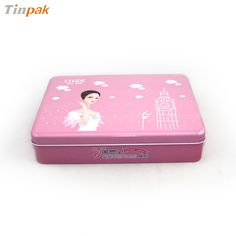 This cosmetic tin box is made of 0.23mm standard tin plate, with food safe standard lacquer inside. Cmyk customized printing and embossing is available..