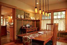 181 Best Craftsman Dining Room Images