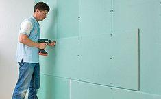 Beim Trockenbau gehören Gipskarton-Wände zum Standart. Wir zeigen, wie man eine Trennwand aus Gipskarton baut.