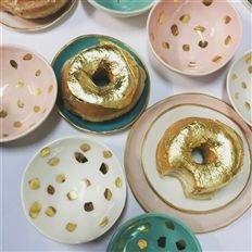 Lavallier Colour Trends, 2016 Trends, Spring Colors, Rose Quartz, Candle Holders, Plates, Candles, Desserts, Food