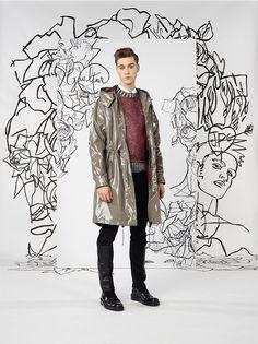 #Menswear #Trends JEAN PAUL GAULTIER Fall Winter 2014 - 2015 Otoño Invierno #Tendencias #Moda Hombre